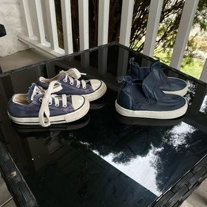 2 pairs of toddler sneakers